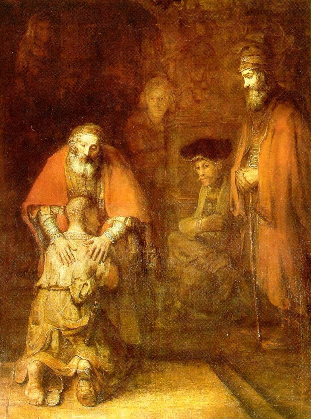 Rembrandt The Return Of The Prodigal Son