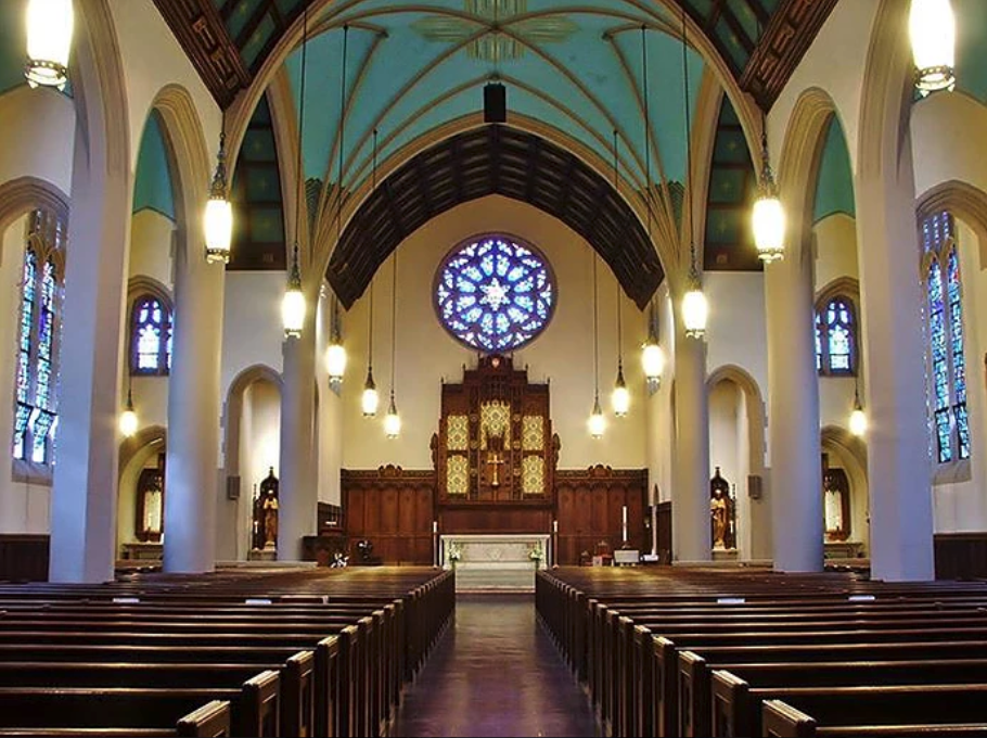 Inside St. John's Parish