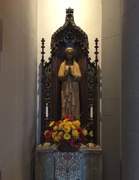 Statue of St. Mary