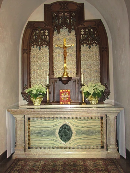 Our Lady Side Altar