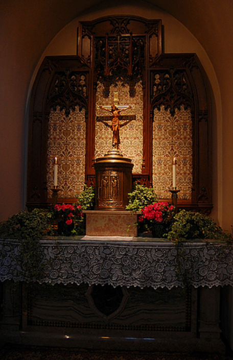 Sacred Heart of Jesus Side Altar
