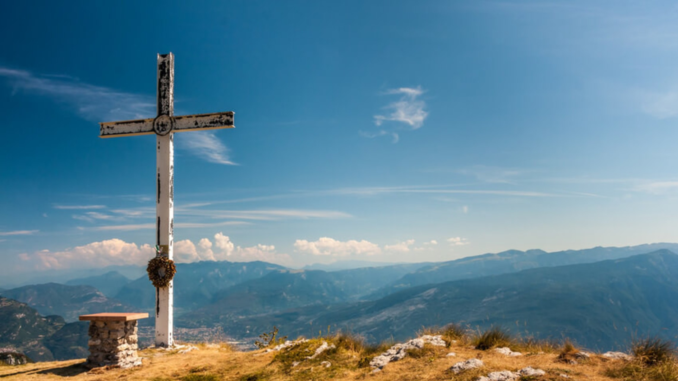Cross On Mountain